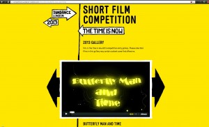 ButterFlyMan and Time - Sundance Film Festival